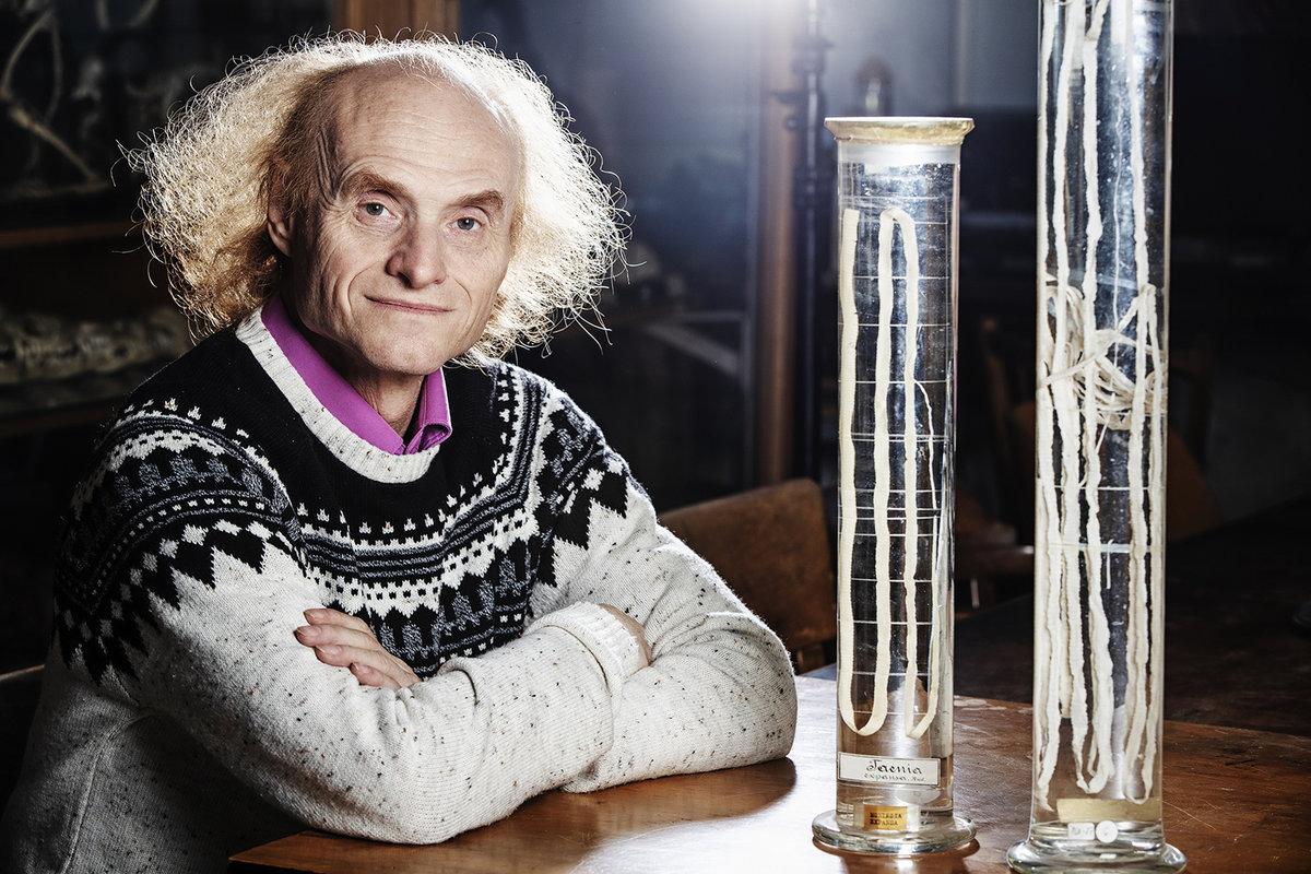 Profesor ekologie a evoluční biologie Jaroslav Flégr