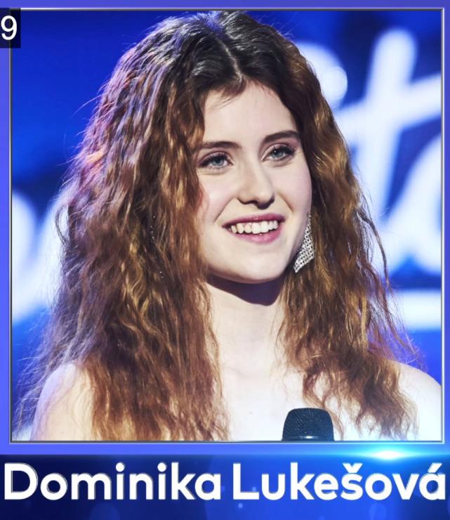 Finálová desítka - Dominika Lukešová