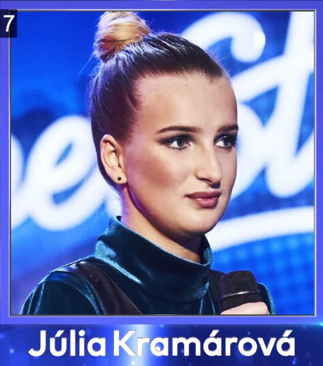 Finálová desítka - Júlia Kramárová
