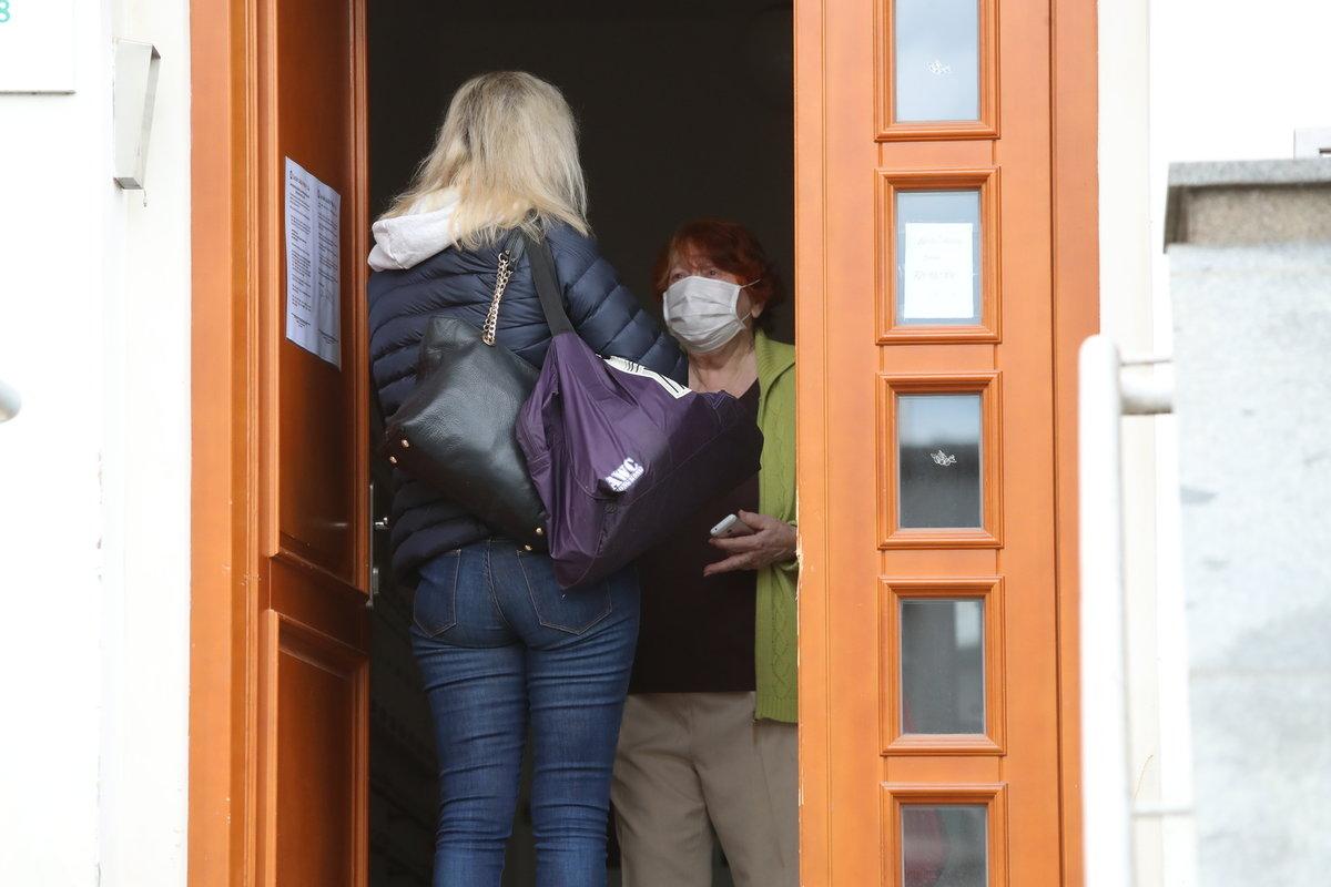 Před dvěma týdny Gottová poprvé navštívila maminku v klubovně.