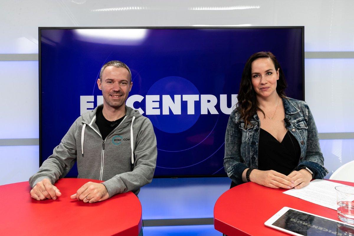 Zakladatel a CEO Kiwi.com Oliver Dlouhý v Epicentru 27.5.2020