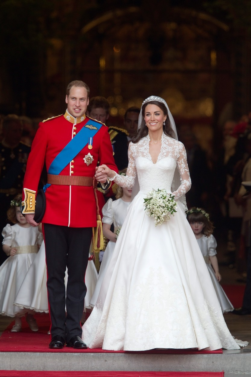 Princ Willaim a vévodkyně Kate