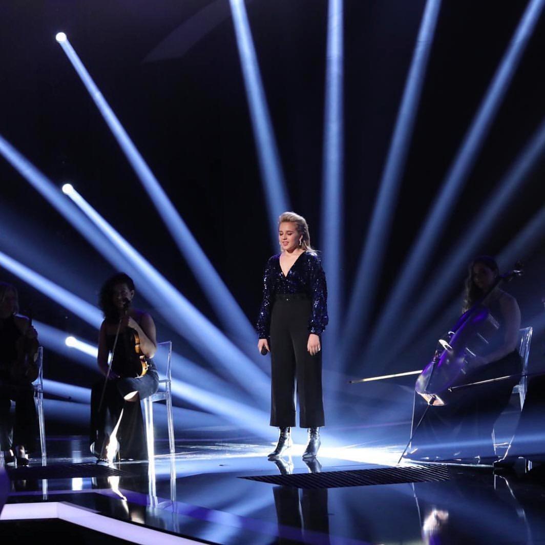 Diana Kovaľová v posledním finálovém díle SuperStar.