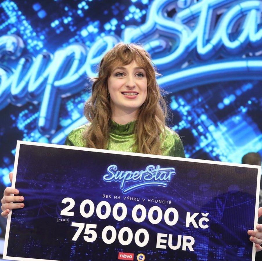Letošní vítězkou SuperStar se stala Barbora Piešová