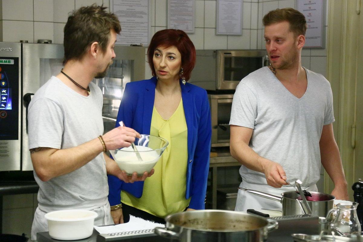 Simona Babčáková v seriálu Ohnivý kuře