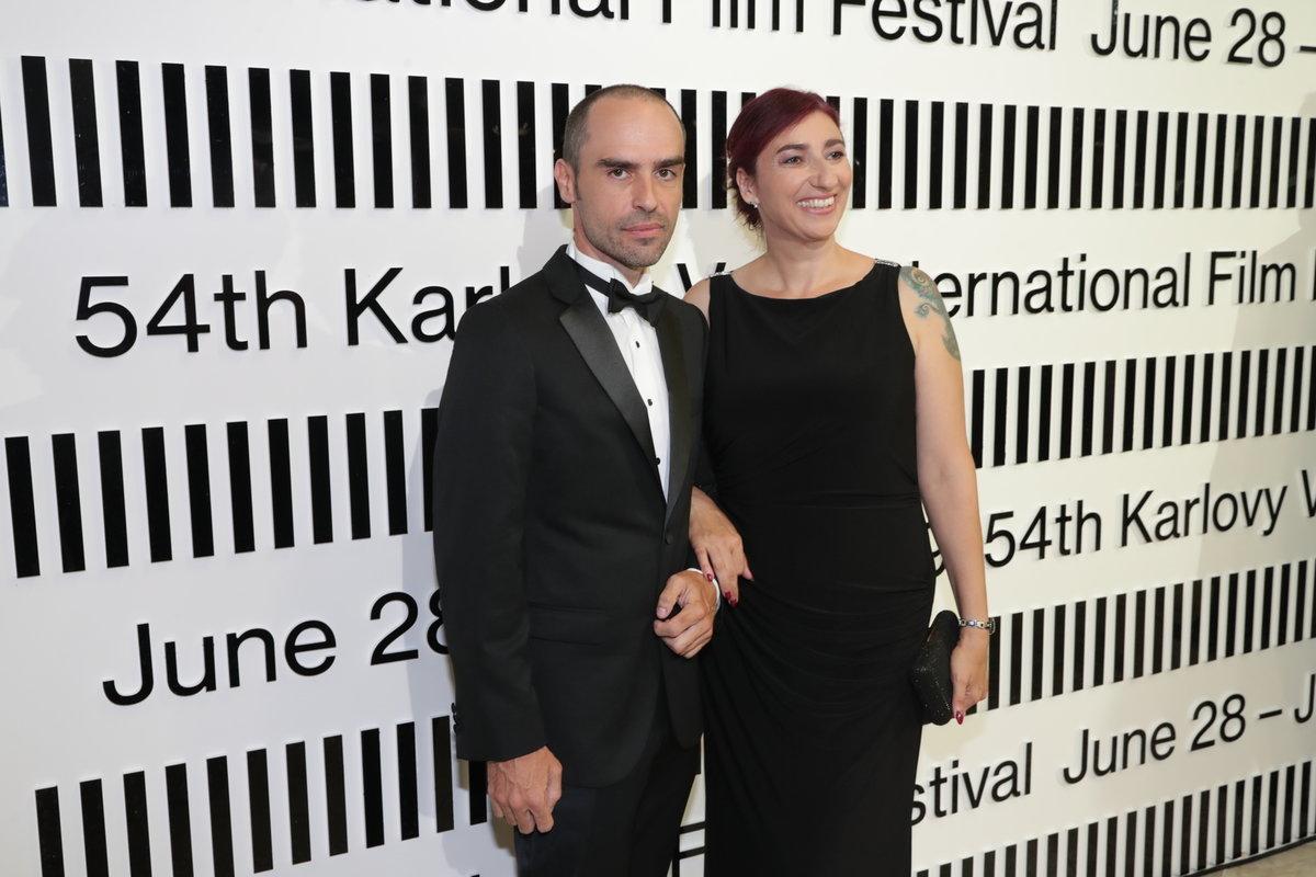 Simona Babčáková s partnerem Janem Adensamem