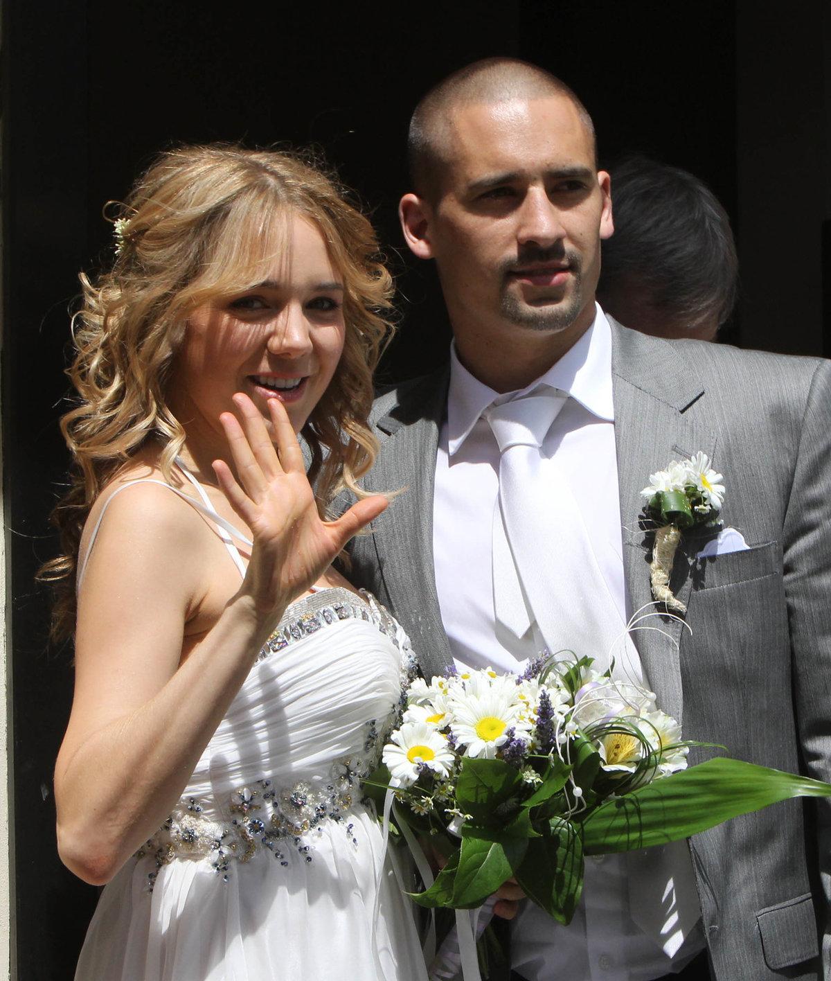 Svatba Tomáše Plekance a Lucie Vondráčkové