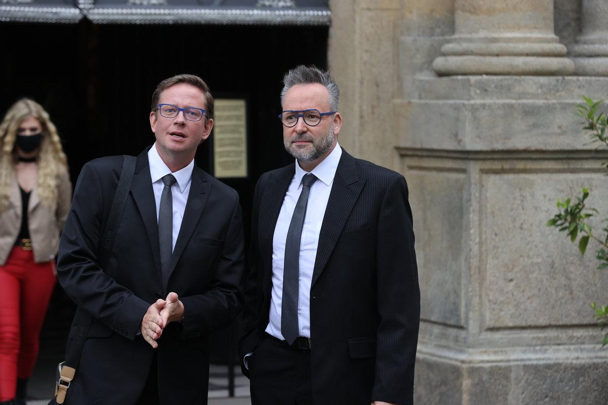 Odcházející pár Aleš Cibulka a Michal Jagelka