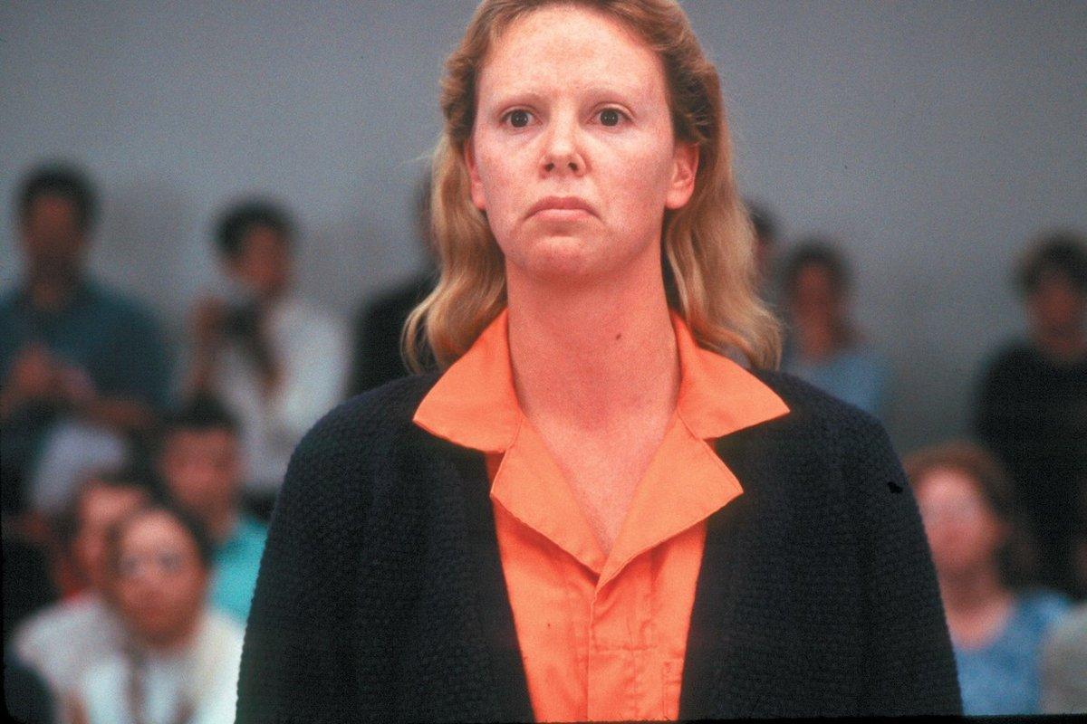 Charlize Theron ve filmu Zrůda