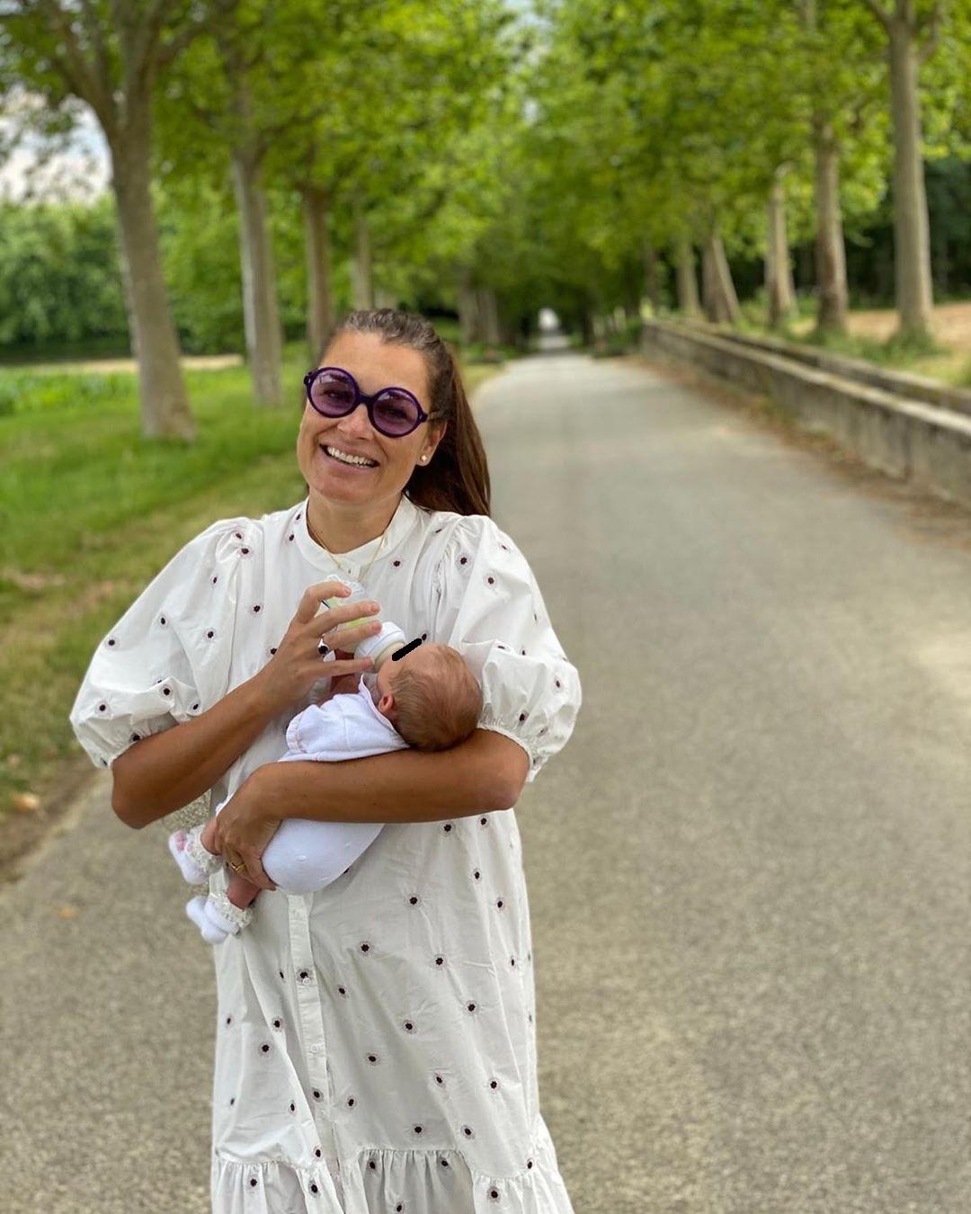 Šeredová vyrazila na víkend k příbuzným: S princeznou Vivi vyrazila do přírody!