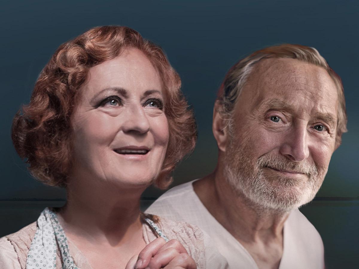 Simona Stašová a Simona Stašová jako manželé Norman s Ethel.