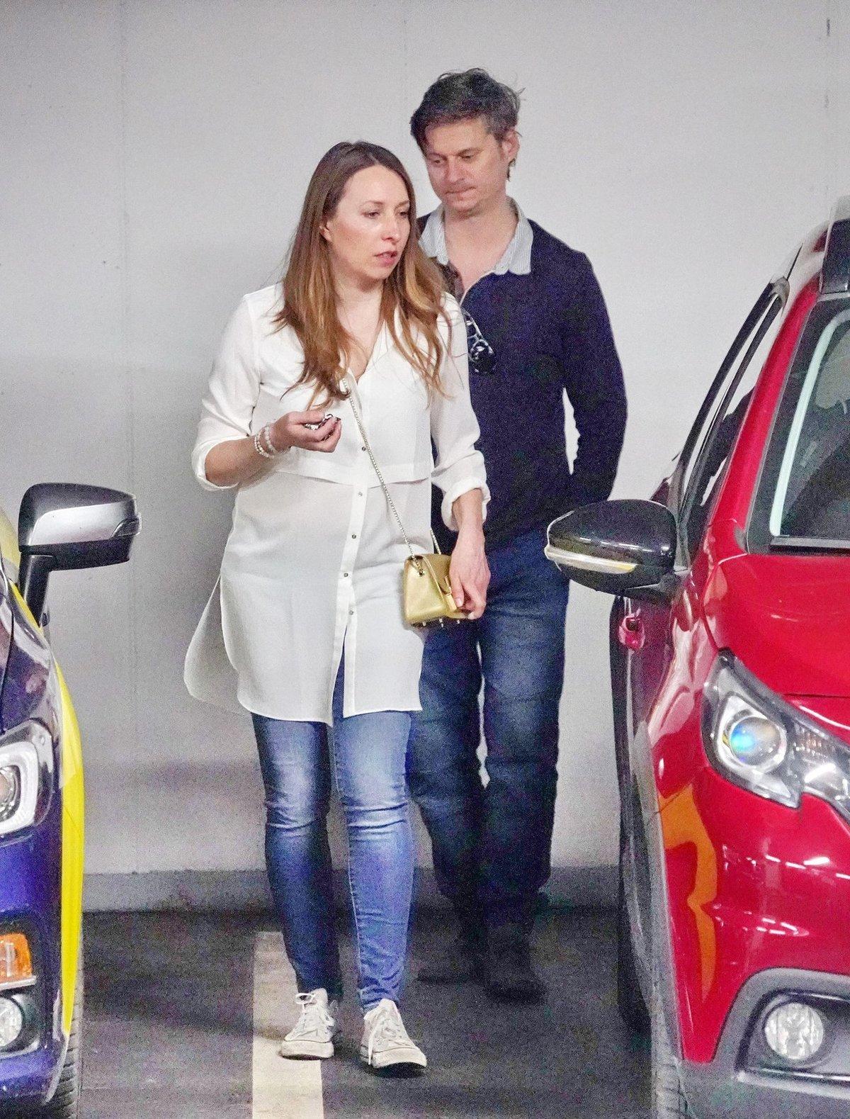 Tereza Bebarová s partnerem.