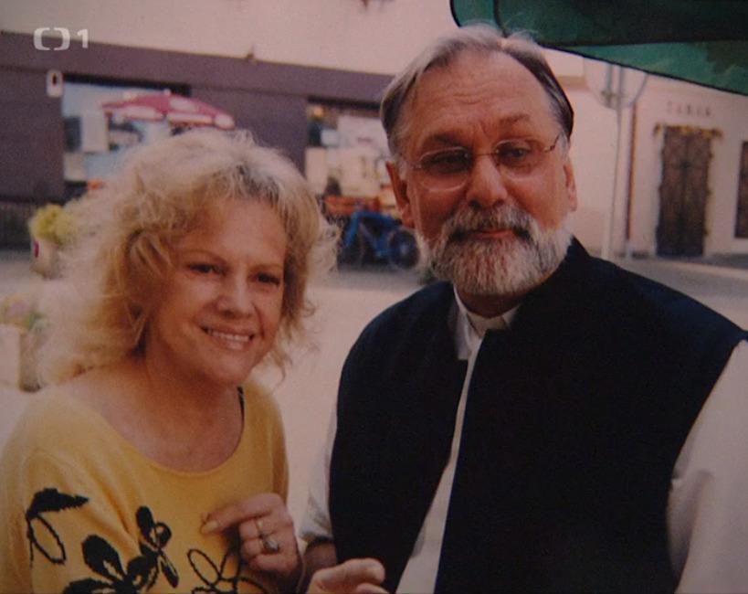 Otec Jordán s Evou Pilarovou byli dobří přátelé.