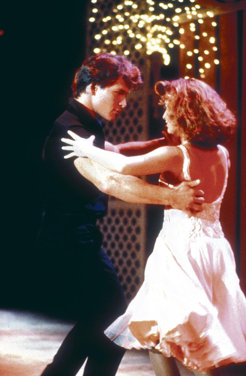 Slavný filmový taneční pár Jennifer Grey a Patrick Swayze