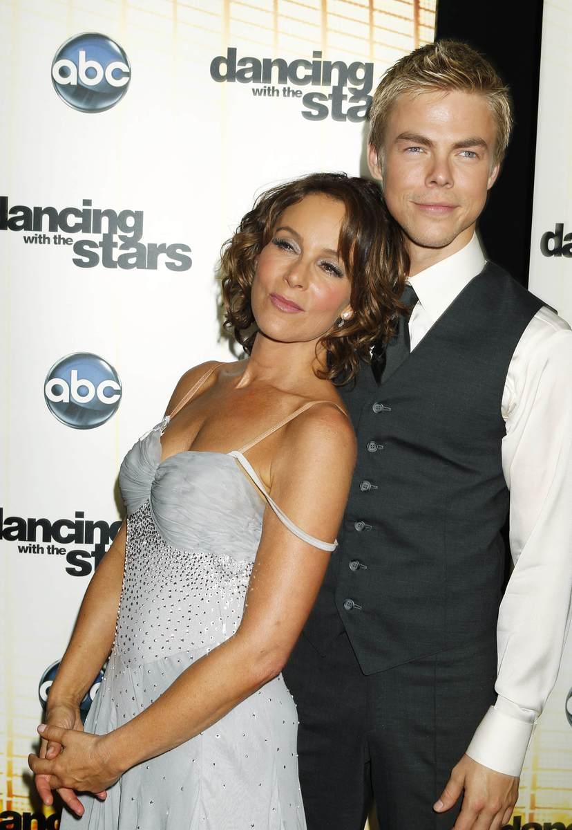 Jennifer Grey se svým novým tanečním partnerem