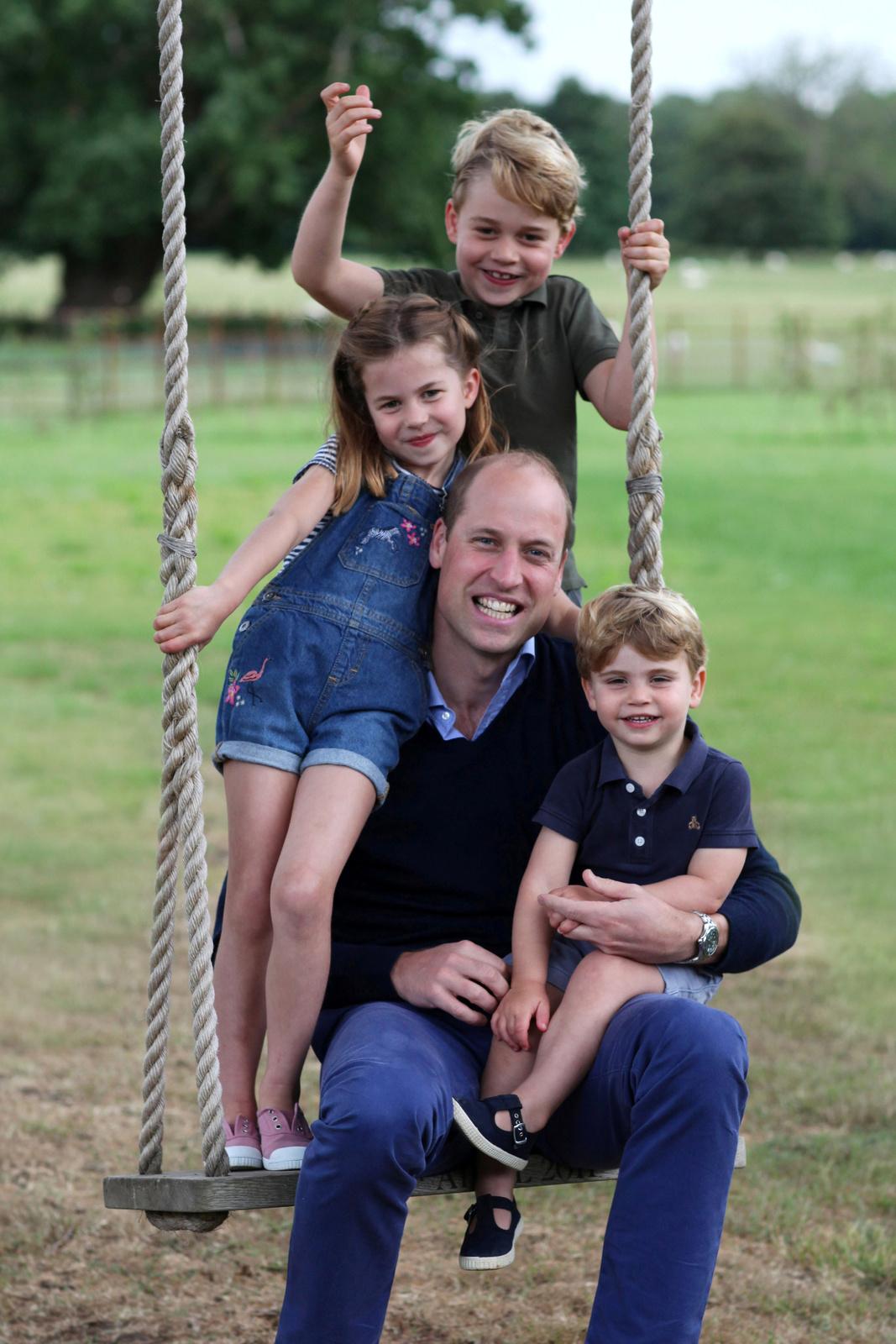 Princ William s dětmi