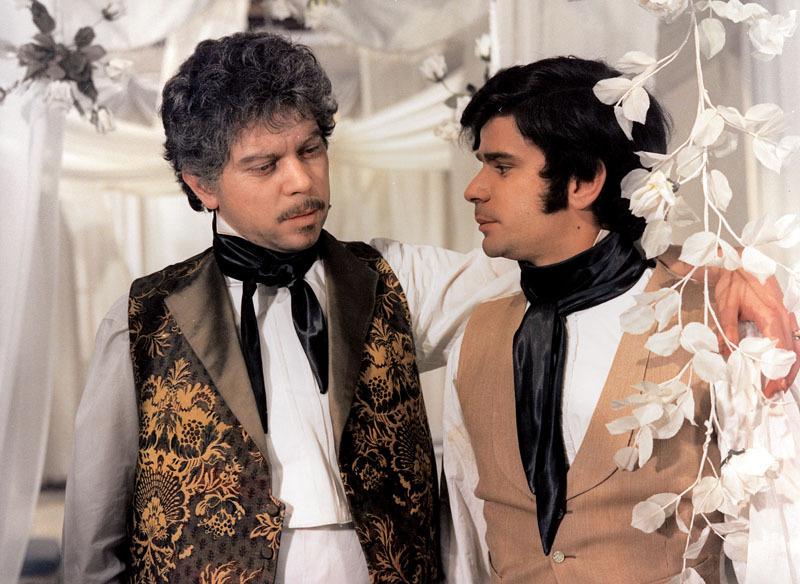 Martin Štěpánek si s bratrem zahrál jen jednou v Kachyňově snímku Tajemství velkého vypravěče, kde hrál Alexandra Dumase staršího. O této roli hovořil jako o své nejoblíbenější.