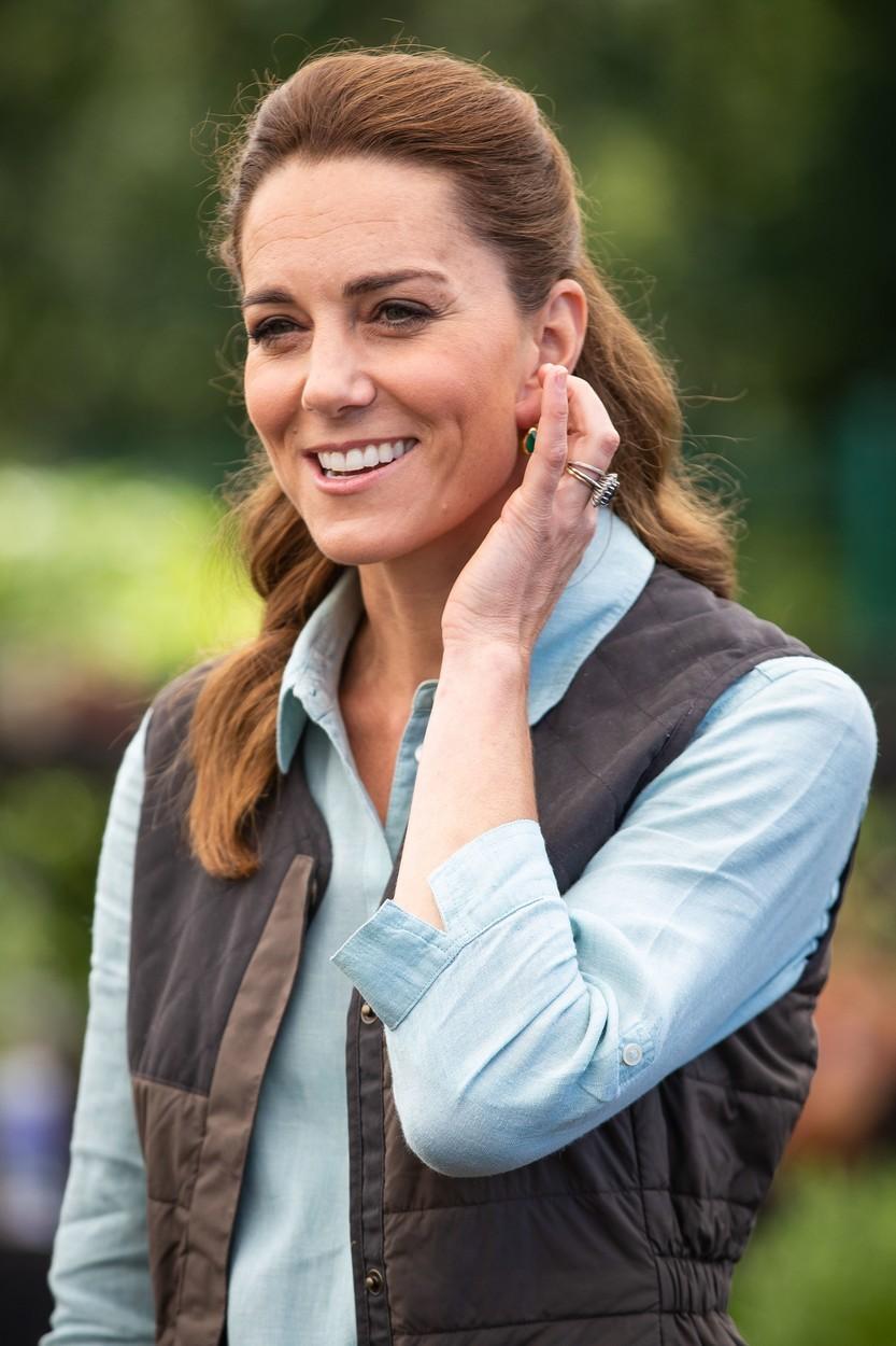 Kate Middleton poprvé od koronavirové krize na veřejnosti