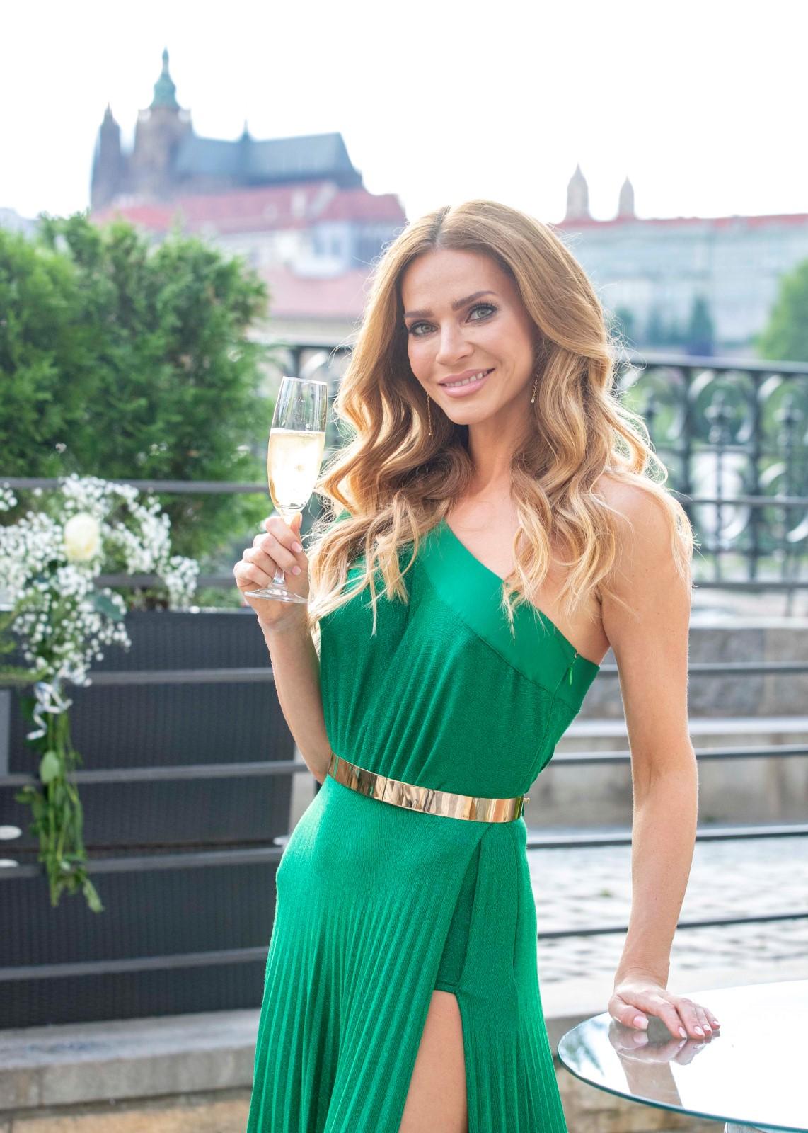 Andrea Verešová oslavila 40. narozeniny