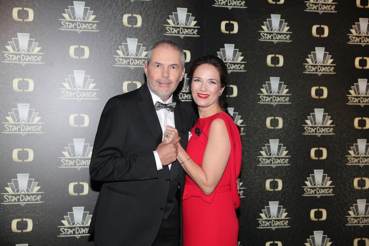 Marek Eben a Tereza Kostková, moderátoři StarDance