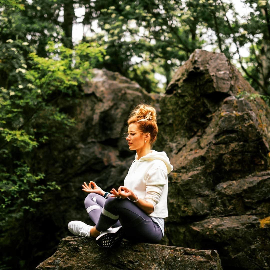 Gabriela Koukalová přírodu miluje.