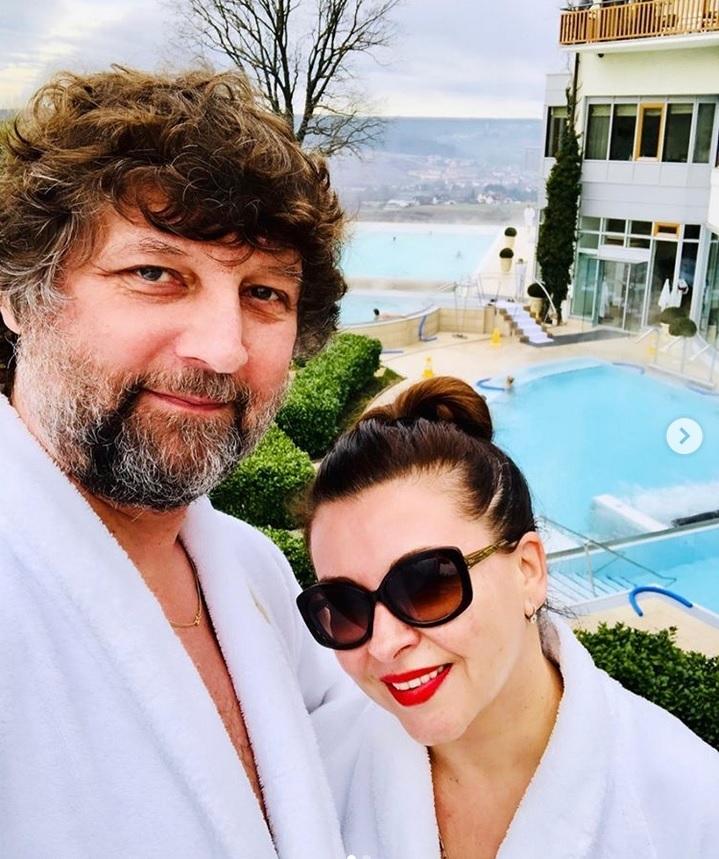 Dana s manželem