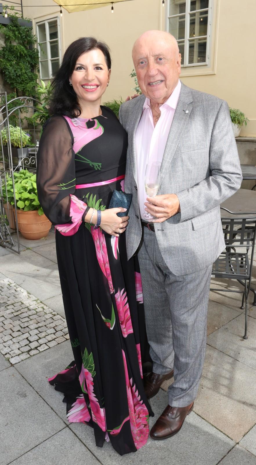 Mejdan ve Four Seasons: Andrea Kalivodová a Felix Slováček