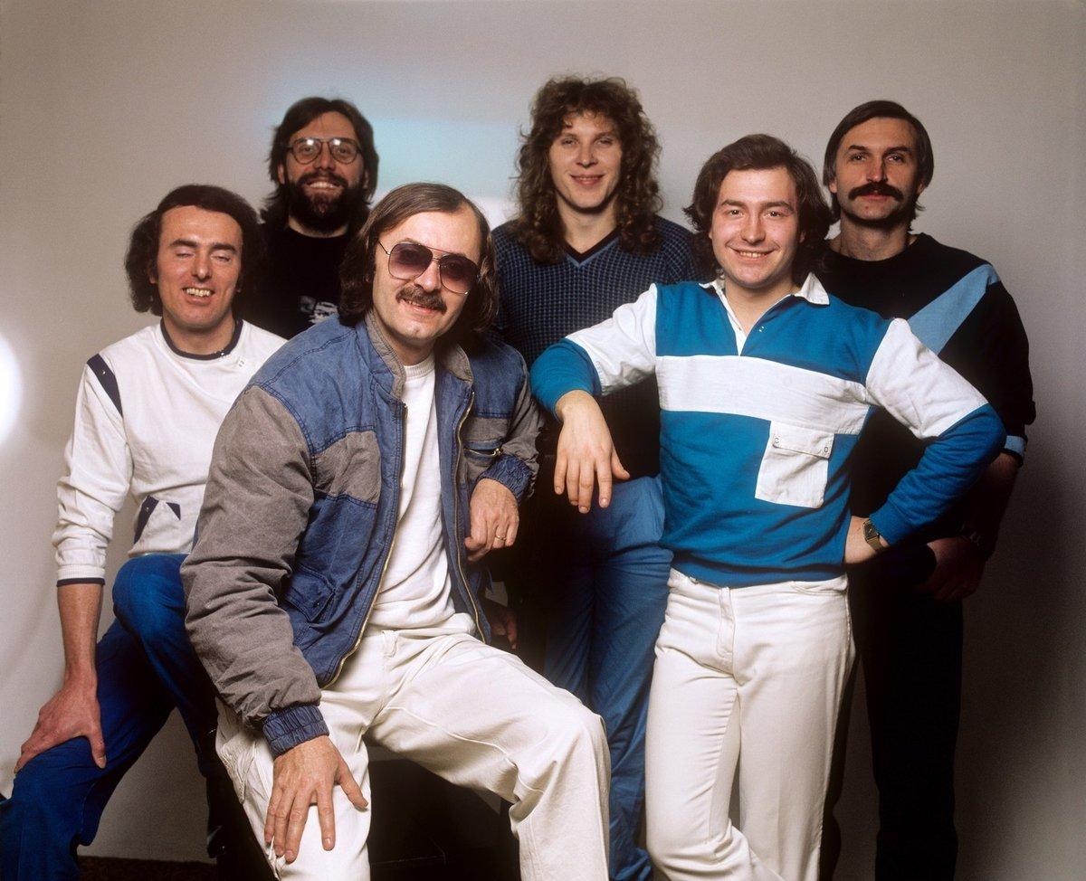 1980 - Michal David se skupinou Kroky Františka Janečka.