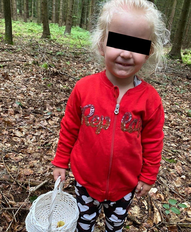 Agáta Hanychová vyrazila s dětmi na houby.