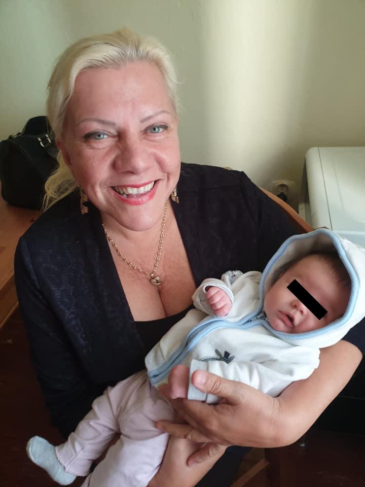 Marie Pojkarová s vnučkou Valerií