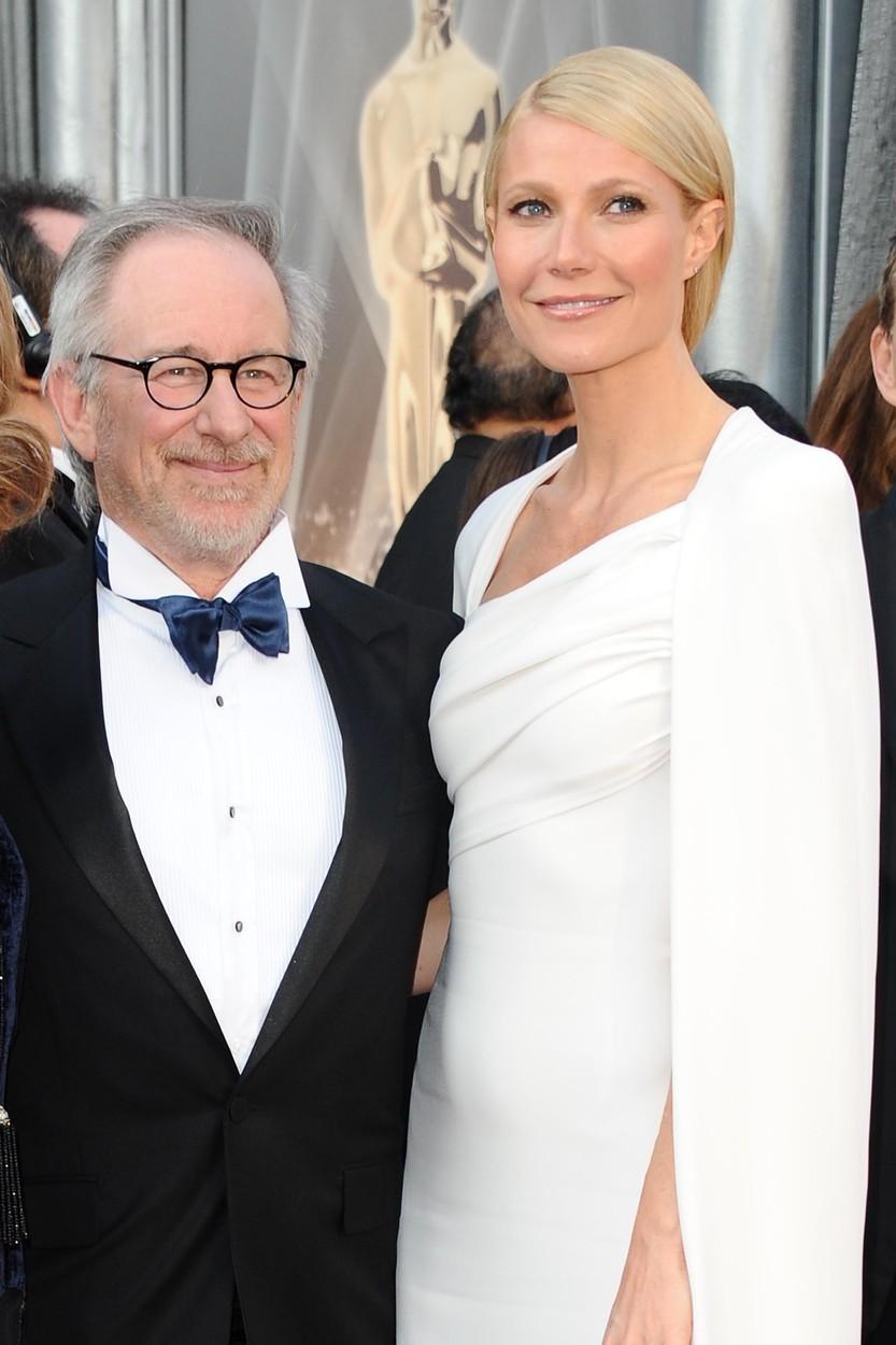 Steven Spielberg a Gwyneth Paltrow