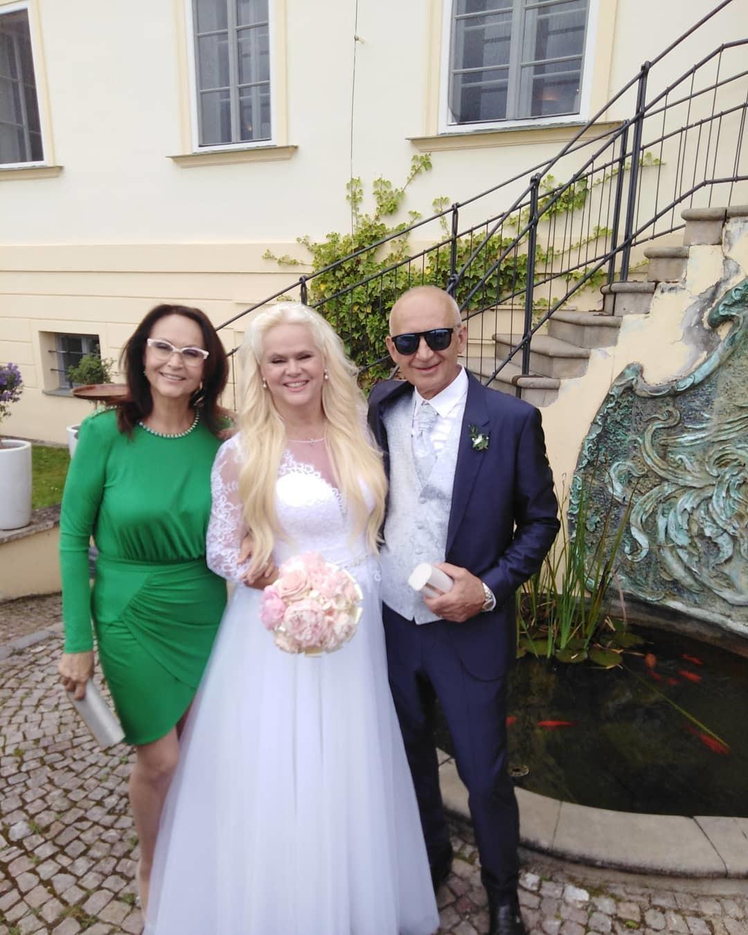 Monika Štiková se vdala