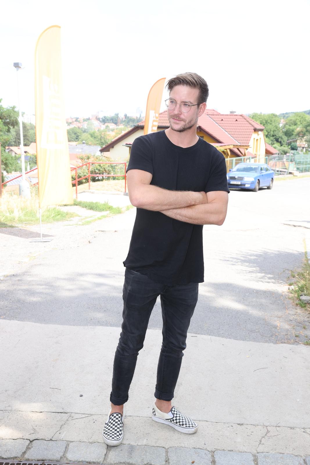 Vladimír Polívka na tiskovce Primy