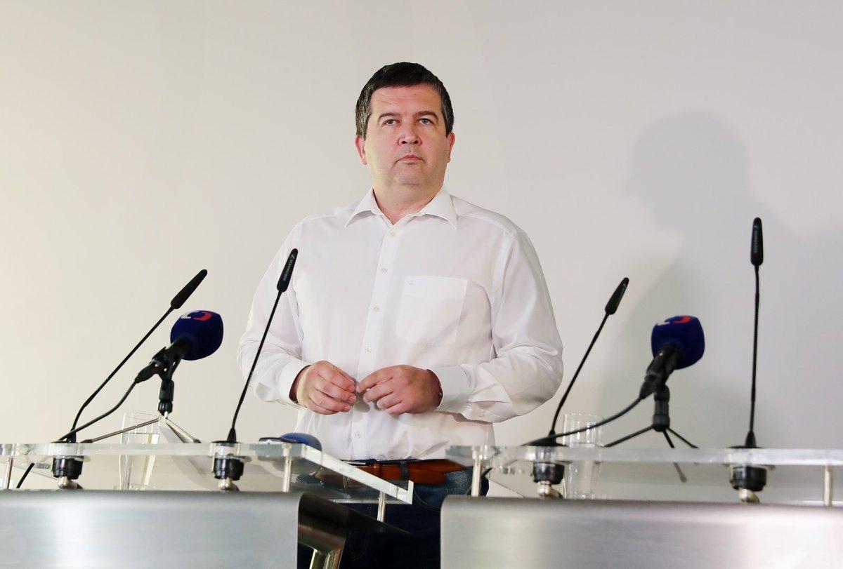 Ministr vnitra Jan Hamáček (ČSSD)
