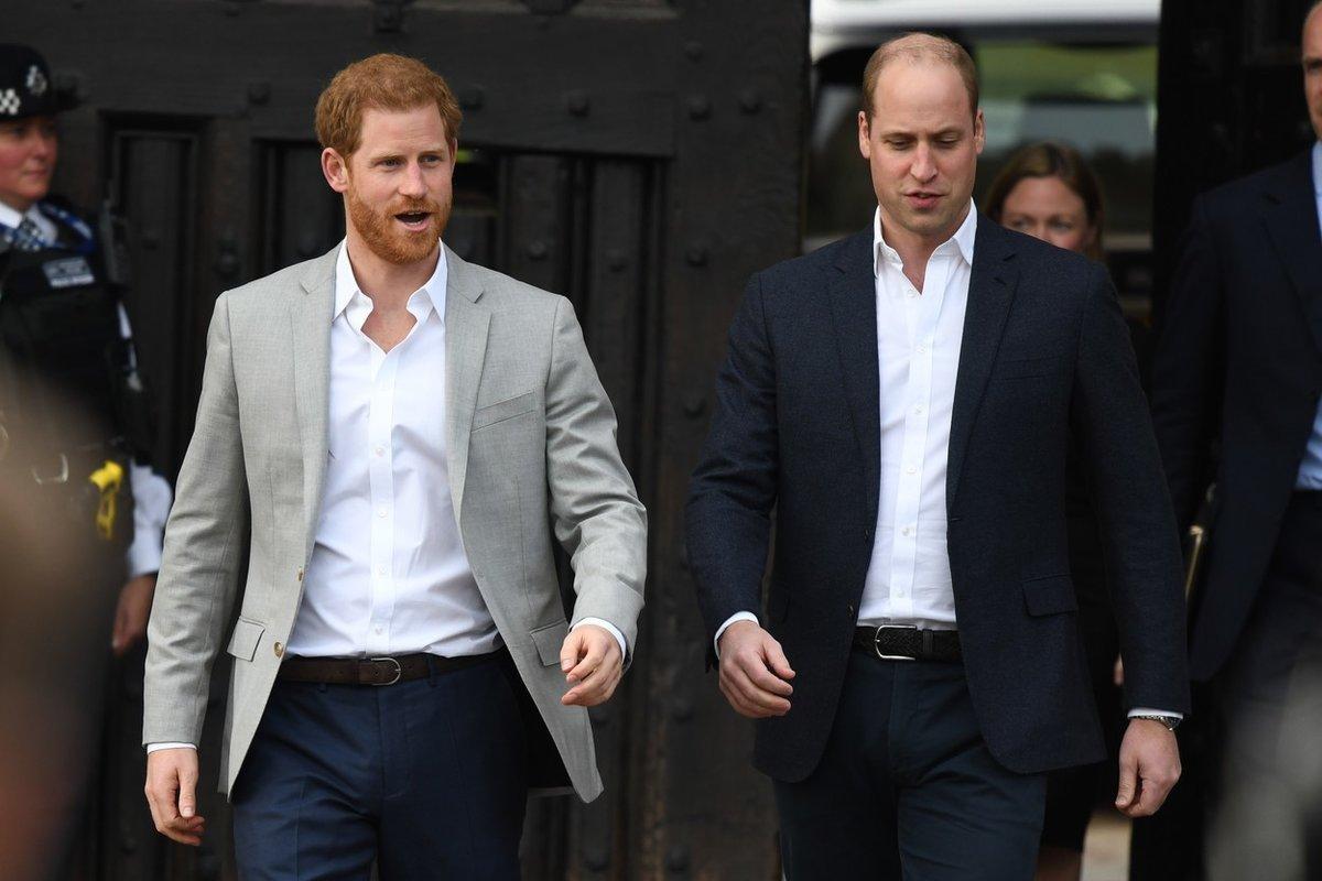 Princové Harry a William