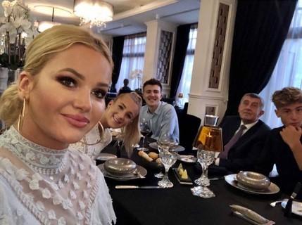 Dcera premiéra Andreje Babiše (ANO) Vivien slavila dvacáté narozeniny. (28. 7. 2020)