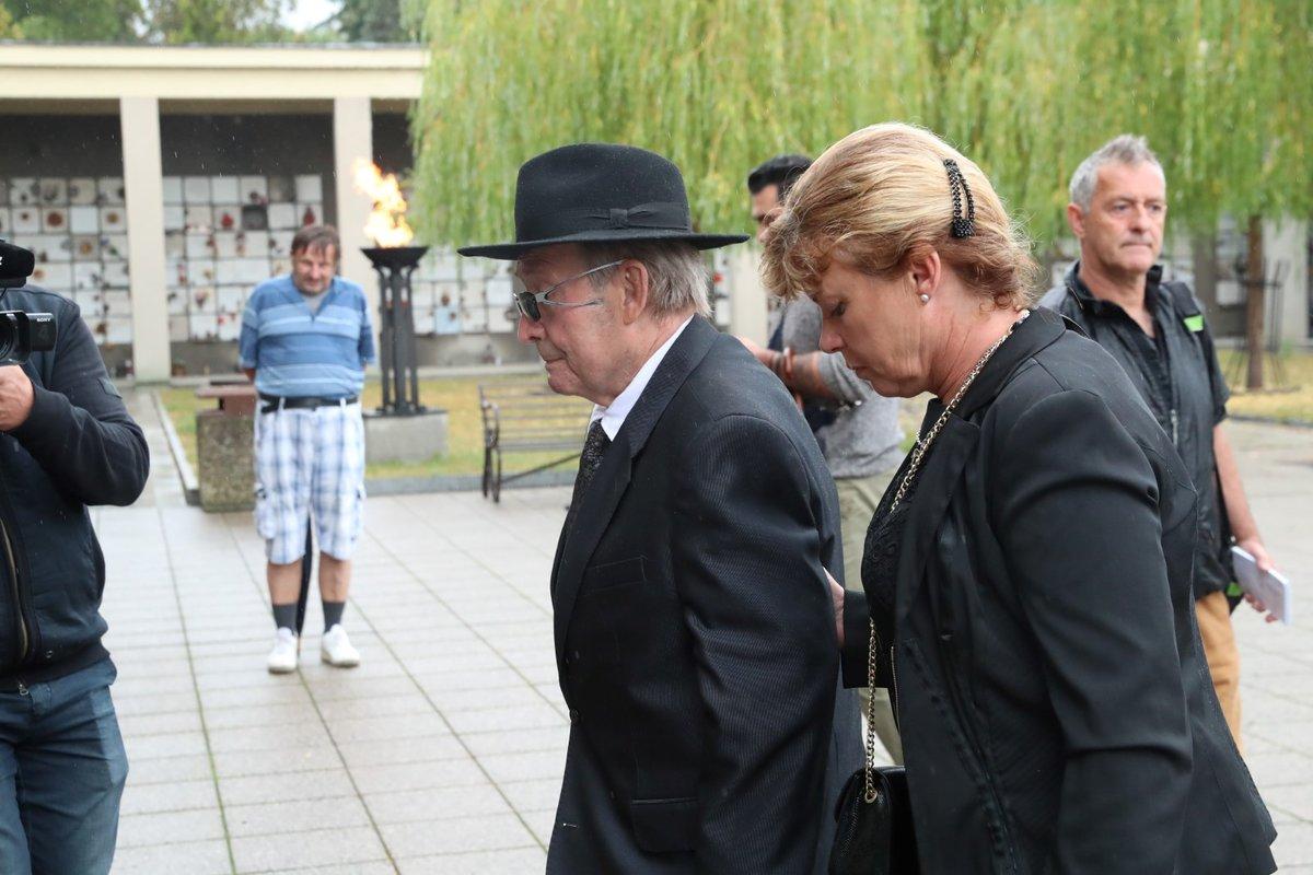 Pohřeb Jana Skopečka: Rudolf Jelínek