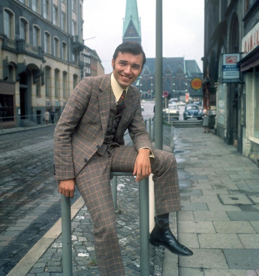 Karel Gott v roce 1968