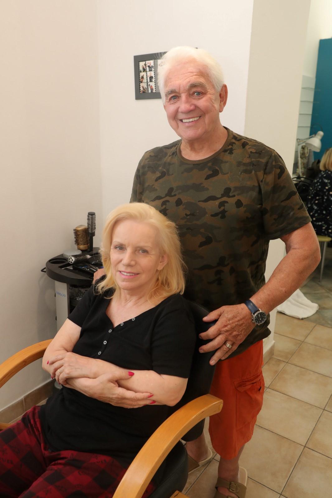 Poslední fotky Hany Krampolové: Před smrtí navštívila kadeřnictví