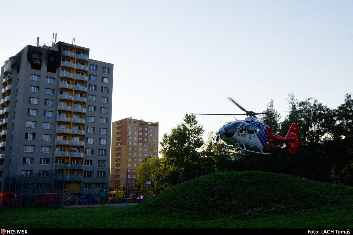 Požár v Bohumíně si vyžádal 11 obětí a několik zraněných