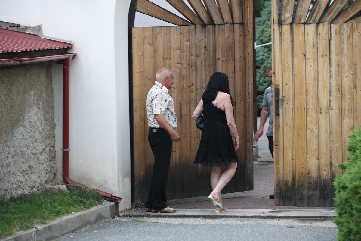 Dáda Patrasová na posledním rozloučení s Hanou Krampolovou (†59)