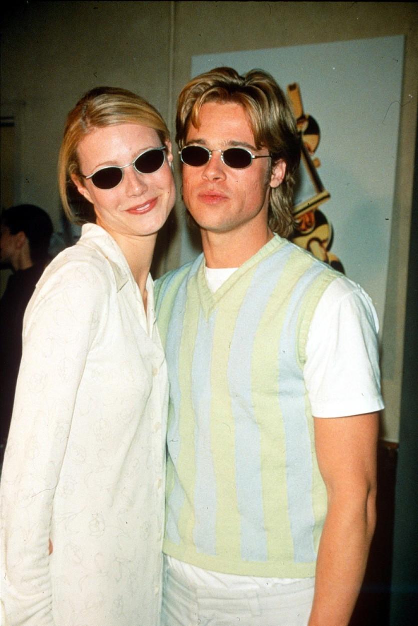 Gwyneth Paltrow a Brad Pitt