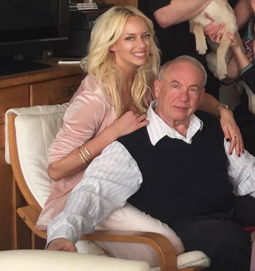 Kateřina Mátlová s otcem