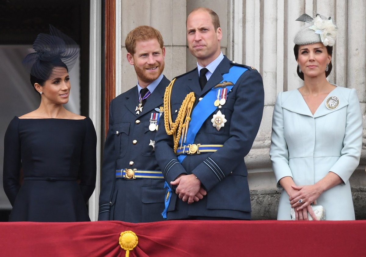 Princ Harry s Meghan a princ William s vévodkyní Kate