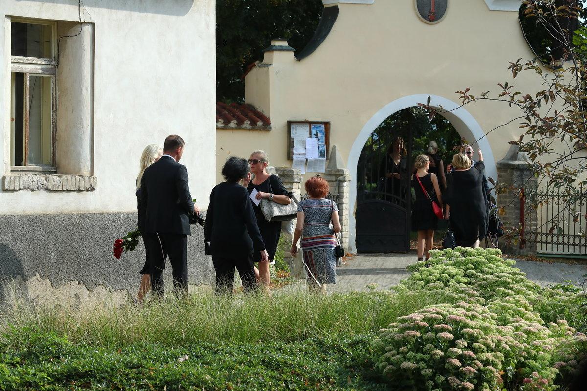 Pohřeb sbormistra Lubomíra Mátla (†79)