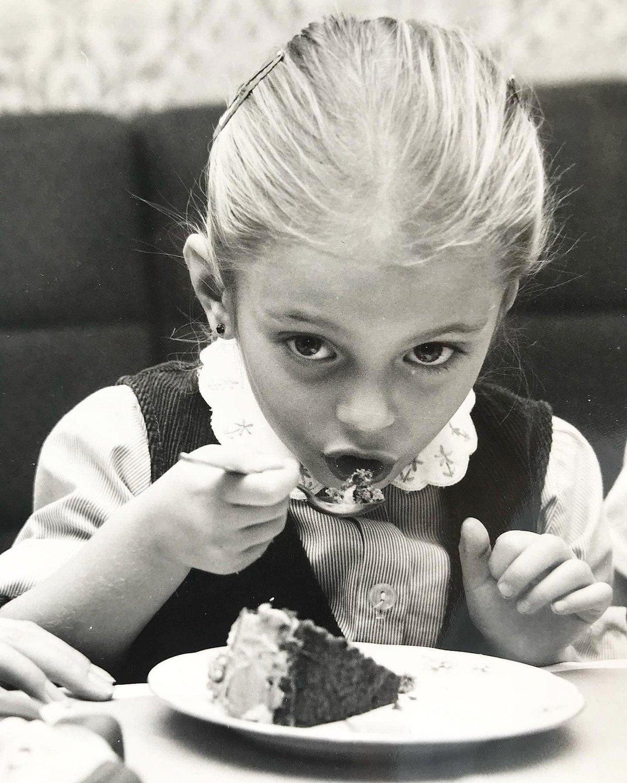 Lucie Borhyová byla roztomilá už jako dítě