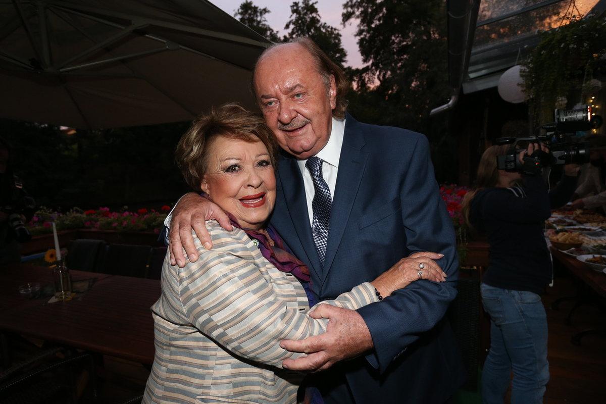 Jiřina Bohdalová a František Janeček