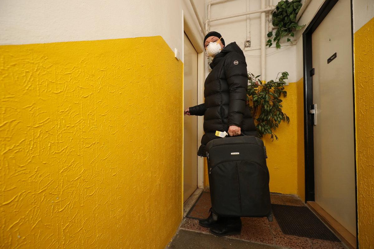 Dominika Gottová se do bytu ve Vysočanech stěhovala během koronakrize.