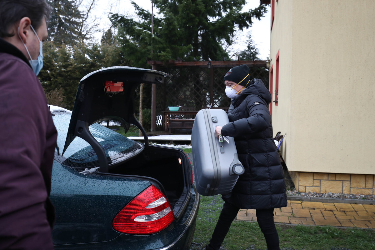 Stěhování Dominiky Gottové