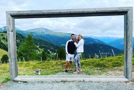 Lucie a Tomáš na dovolené.